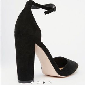 12a88ab2702 ASOS Shoes - BNWT ASOS Black Penalty Pointed High Heels